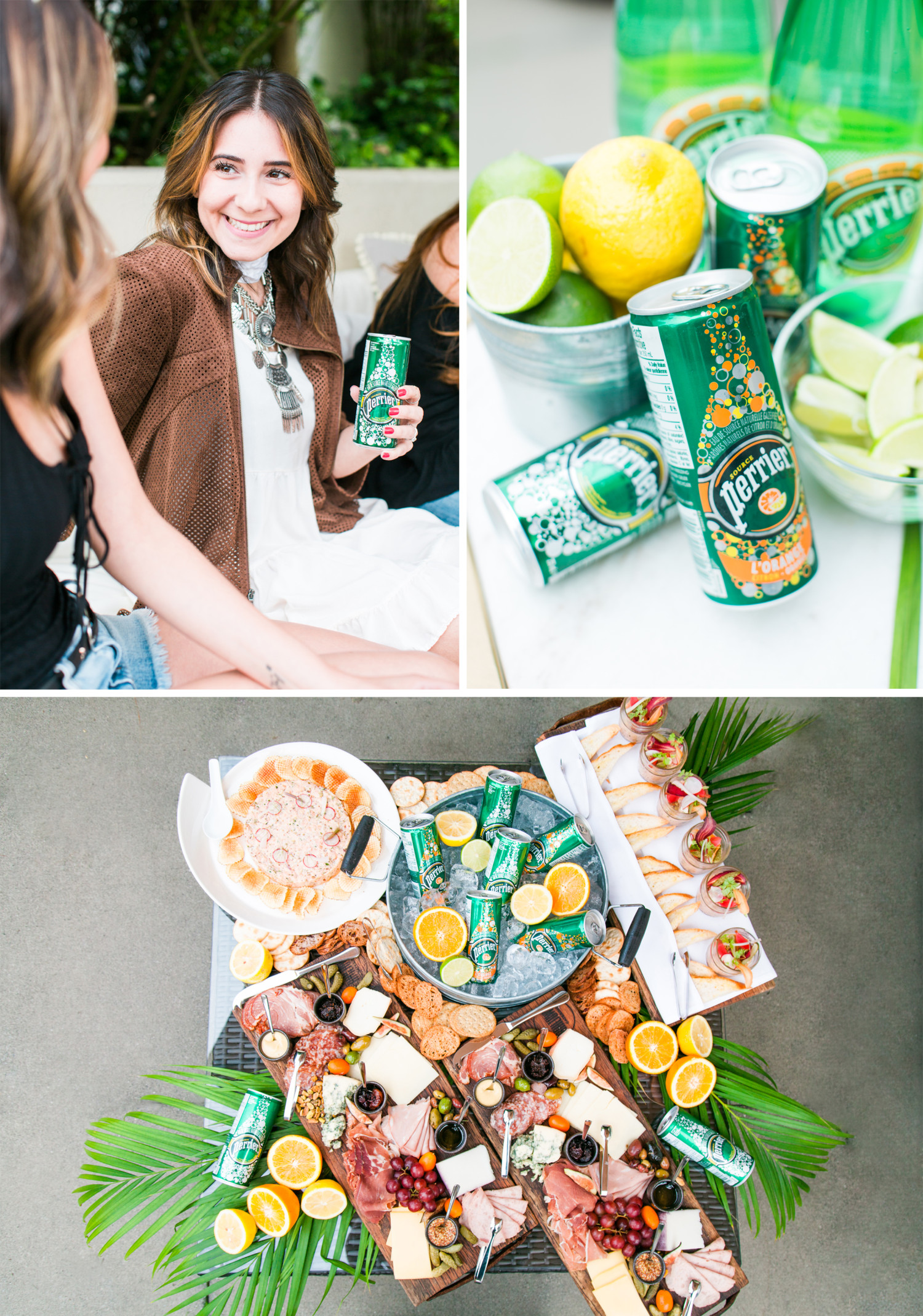 Perrier Patio Party Collage 1