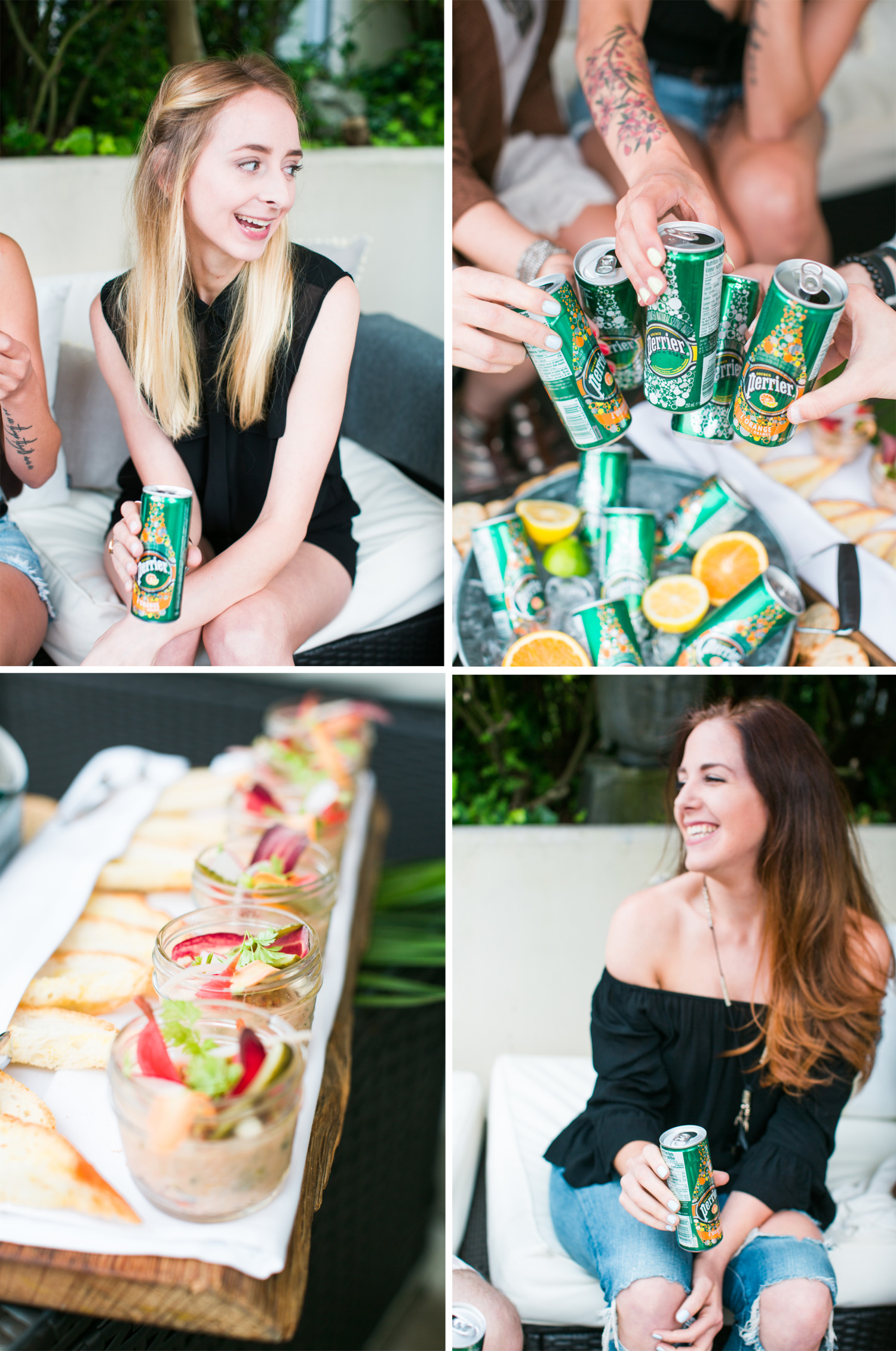 Perrier Patio Party Collage 2