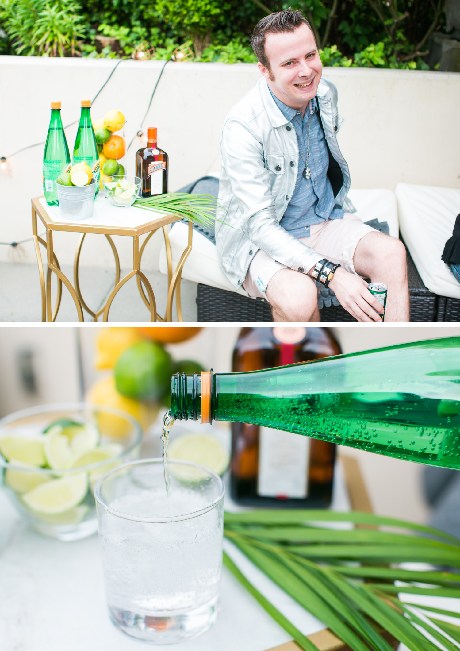 Perrier Patio Party Collage 3