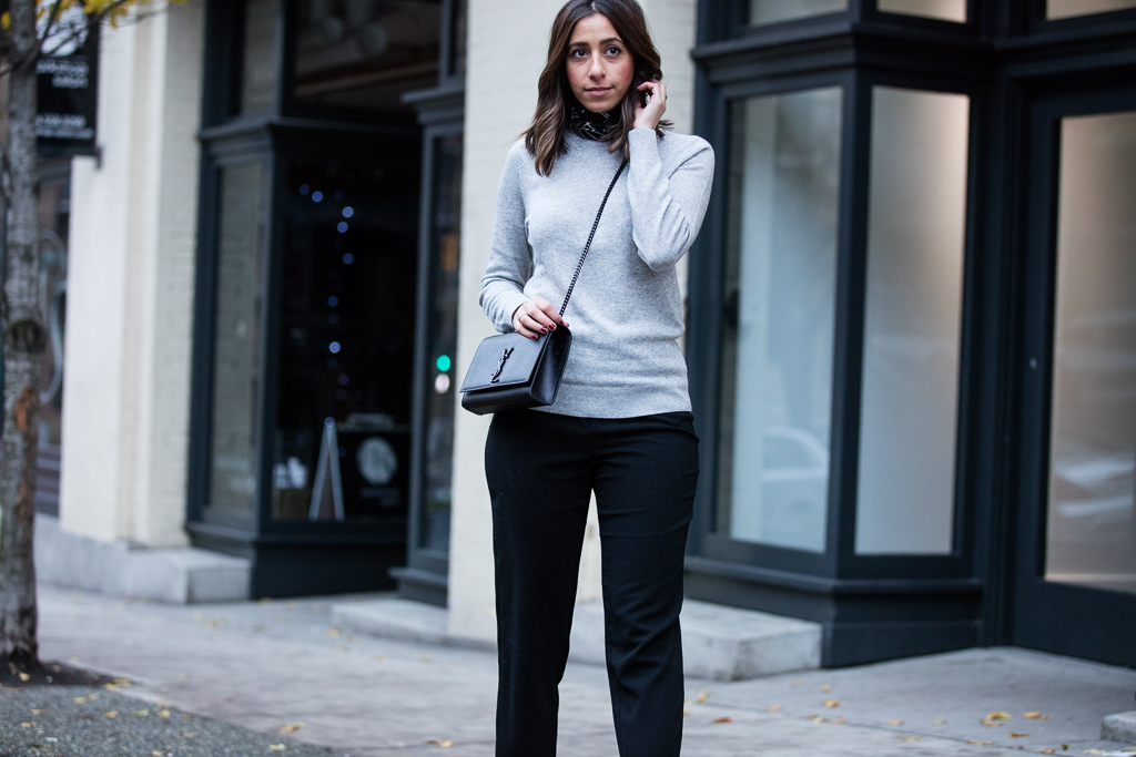 Randa Salloum Vancouver Fashion Blogger Minimal Office Outfit 3
