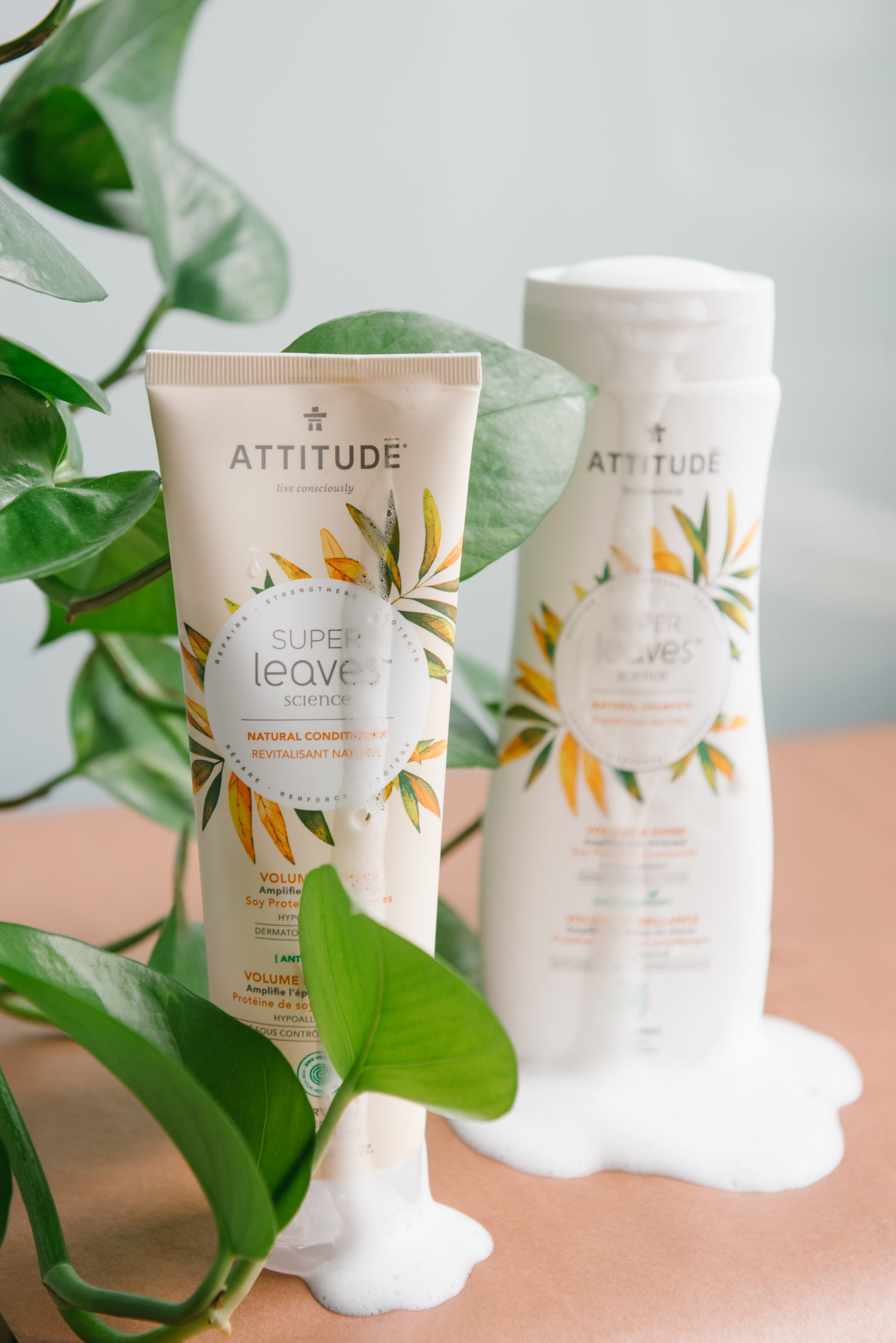 Attitude Superleaves Shampoo & Conditioner Randa Salloum Vancouver Blogger