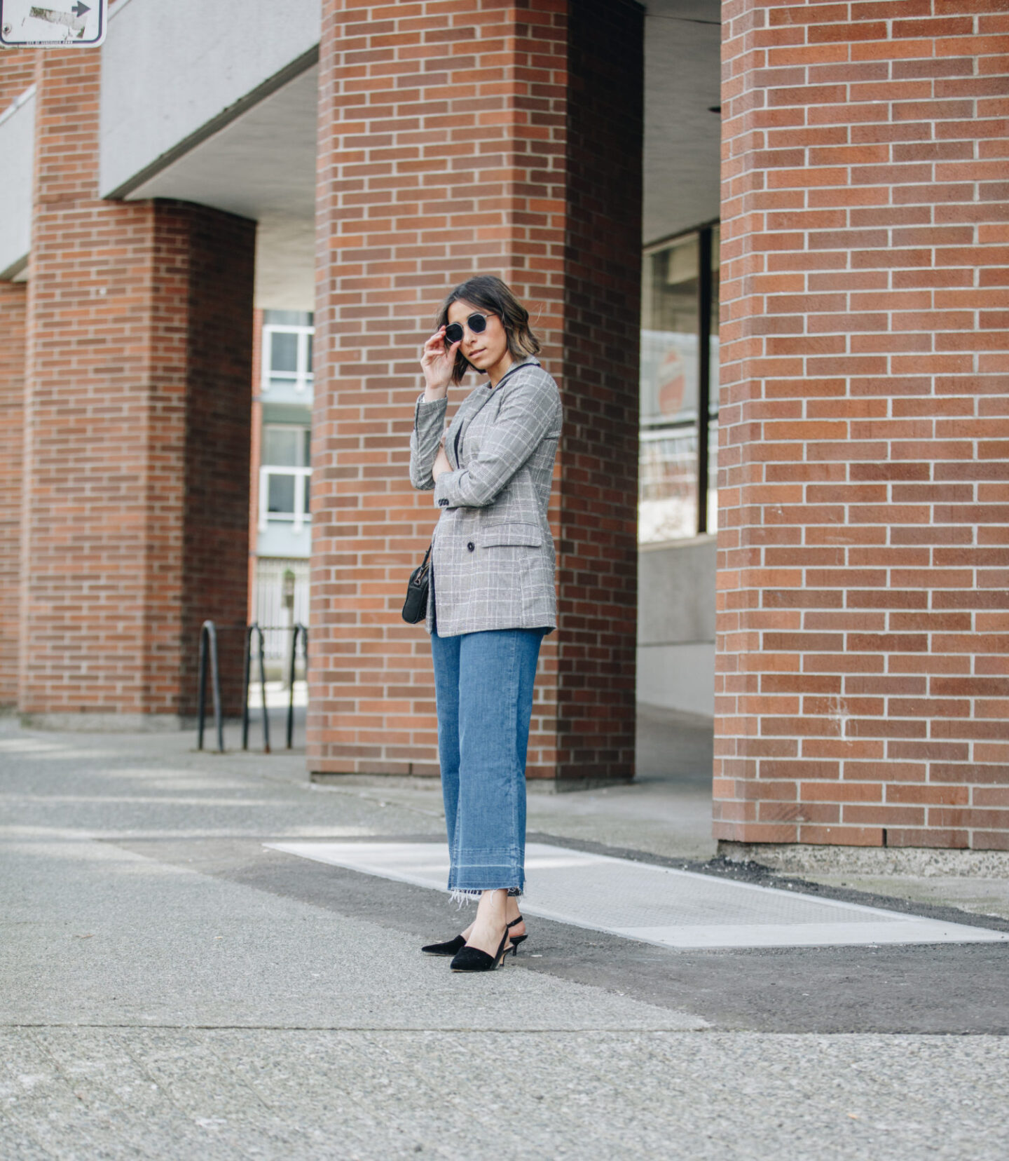 Lighter layers for spring using blazers