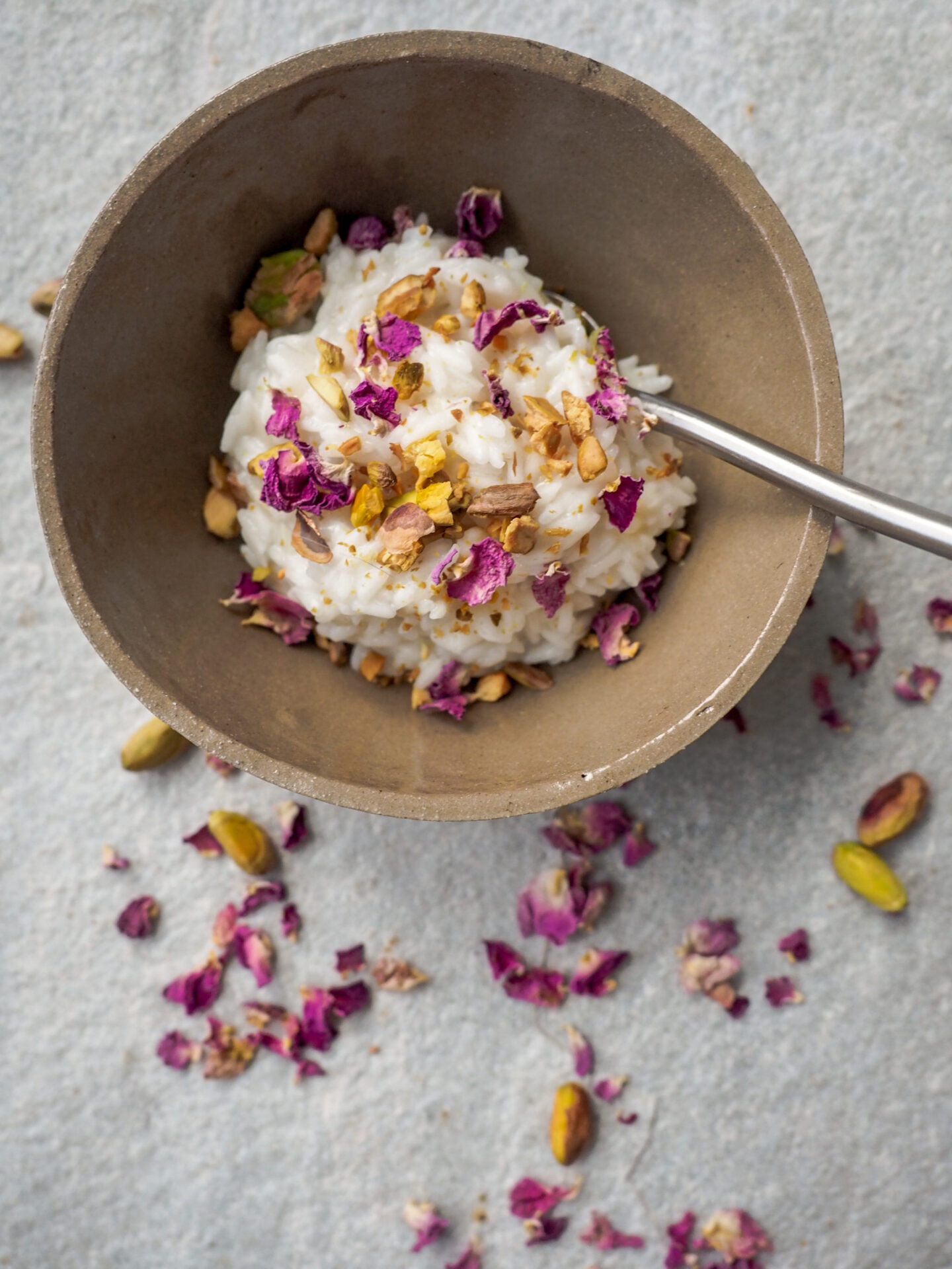 Cap Beauty's Vegan Persian Rose Rice Pudding Recipe