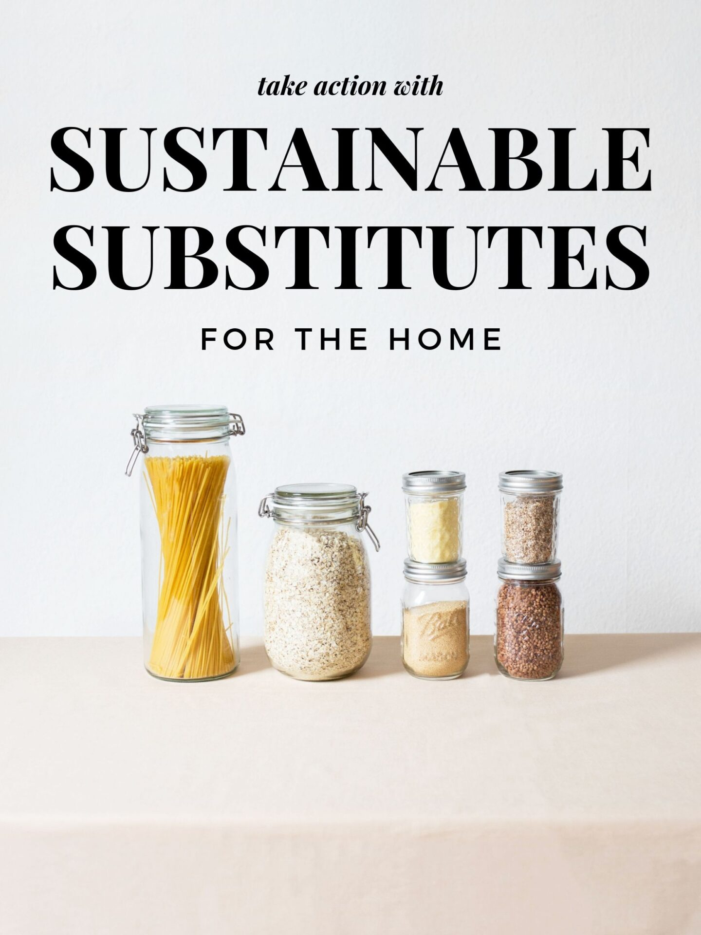Sustainable Substitutes For The Kitchen & Bathroom